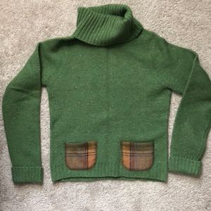Anthropologie Wool sweater RUNS SMALL